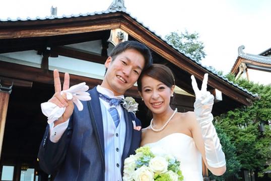 飯田 敏史 さま & 悦子 さま