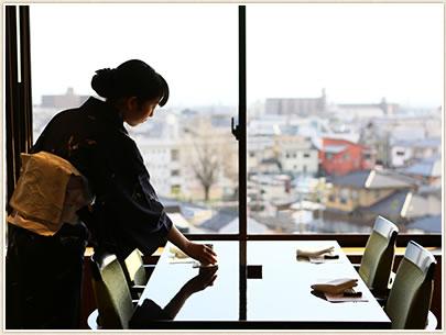 日本料理「花菊」貸切営業に伴う休業日のお知らせ