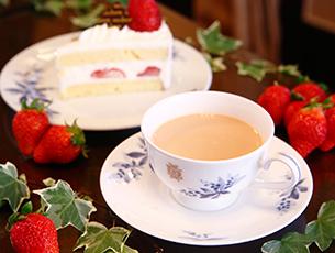 春おすすめの紅茶 ストロベリーミルクティー