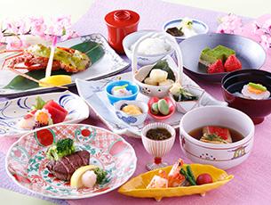 春の特別ディナー 春宵会席