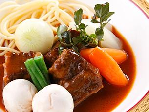 奈良ホテル伝統の味 ビーフシチューランチ