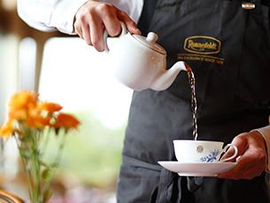 ティーセミナー ロンネフェルトとドイツ紅茶のお茶会
