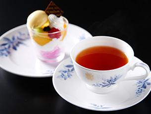 鹿児島フェア 紅茶とケーキ