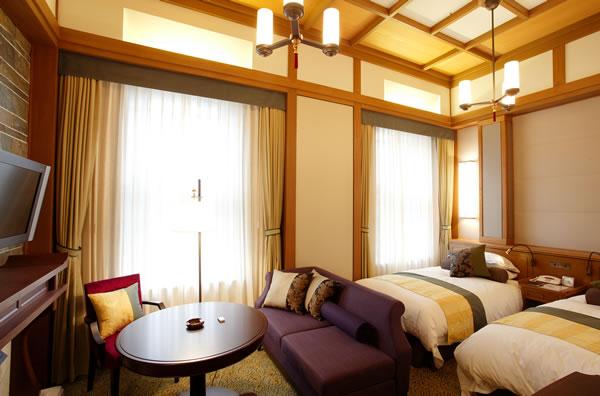 Habitaciones hotel nara for Hoteles de lujo habitaciones