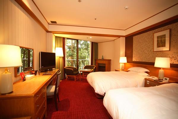 Habitaciones hotel nara for Habitaciones con dos camas
