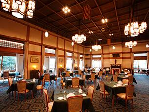 【おかえりメインダイニングルーム】お箸でフレンチを味わう!悠久の奈良へ~Dinner&Stay~