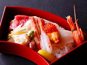 【平日1日20食限定】2,900円ランチ 海鮮ちらし寿し御膳